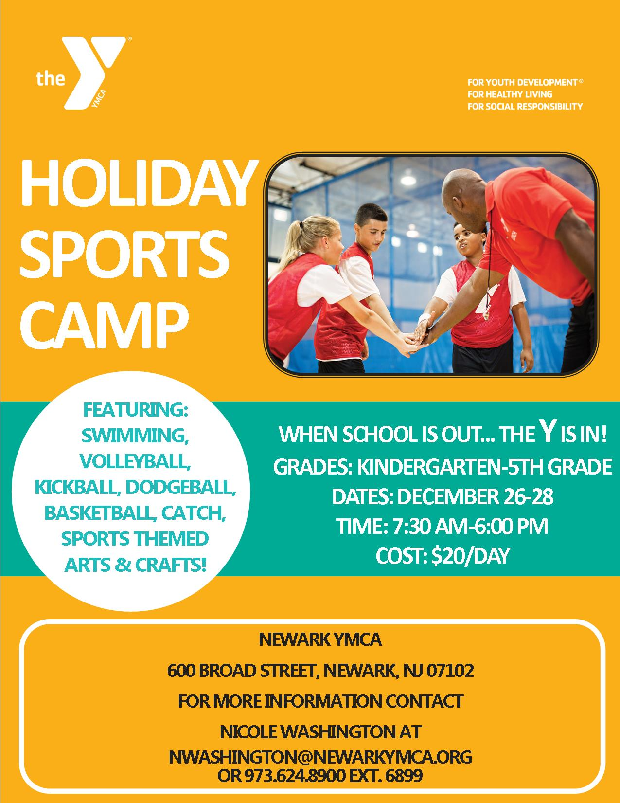 Holiday Sports Camp 2018