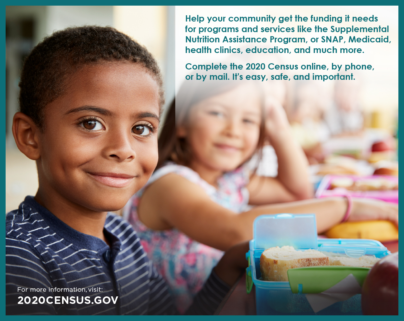 2020 Census - Be Counted!