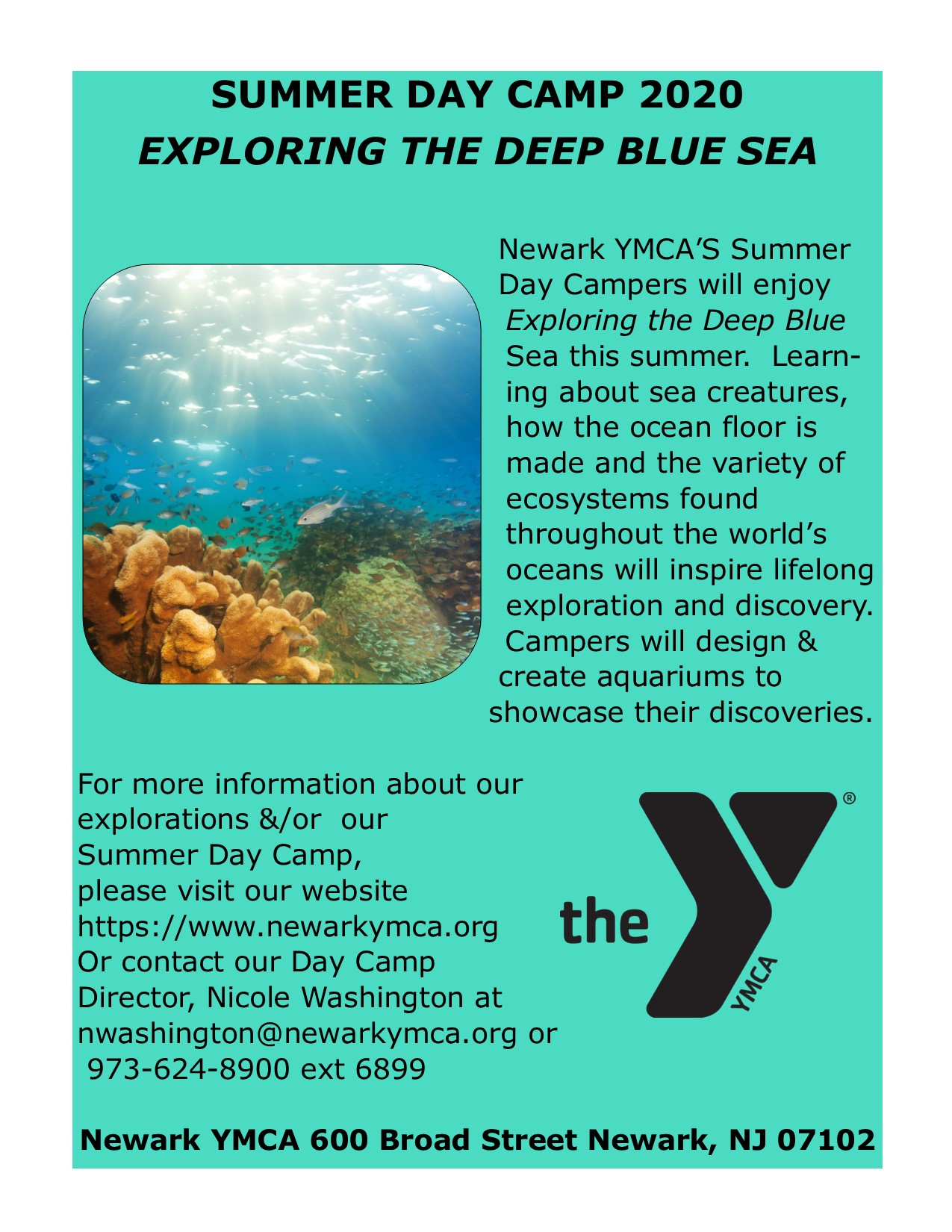 Explore the Deep Blue Seas With Summmer Day Camp
